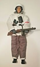 21st Century Toys 1/6 Scale WW2 German Winter Infantry Eastern Front, PPSH-41!!!