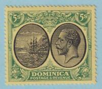 DOMINICA 84  MINT LIGHTLY HINGED OG * NO FAULTS EXTRA FINE!