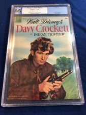 Four Color #631 PGX 6.5 FN+ Walt Disney's Davy Crocket Dell (1955)