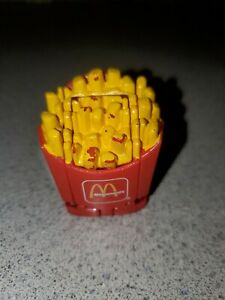 McDonalds 1987 Vintage Changeables French fry Robot Trasformer Toy