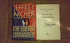 The Eleventh Commandment SIGNED Jeffrey Archer 1st edition 1st Impression Book