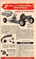 Hoffco Hurricane Kart Richmond Indiana Racing 1960 Vintage Print Ad
