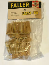 Vintage NIB Faller 4307 HO scale plastic pieces for faux wood scenery components