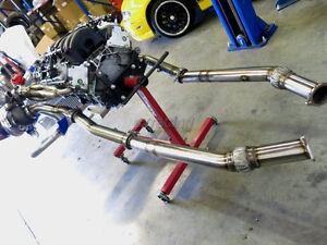 Twin Turbo Manifold  Kit For 04-06 Pontiac GTO Holden Monaro LS1 LS2