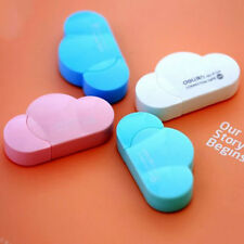 Cute Mini 5mm X 5m Deli Cloud Shape Small Correction Tape School Stationery Tool