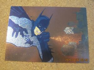 Batman Saga of the Dark Knight Spectra Etch Portraits #B1 Chiarello 1994  ZCO0