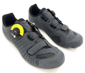 Scott Road Comp Boa Bike Cycling Shoes Gray Reflective Men's Size 44 EU / 10 US