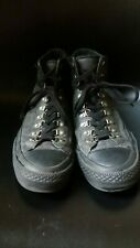 Converse All Star Hiking Shoe Gray/Black US mens 11 Excellent