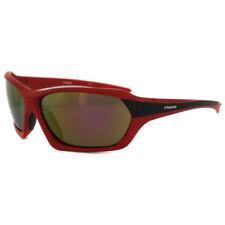 Gafas de sol de hombre rojos de metal, de 100% UV