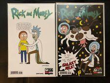 Rick and Morty Comic #1 Roiland + Ryan 1st Printing Variant 1C 1D MINT Oni Press