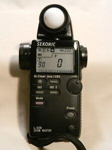 Sekonic  L508 Zoom Master Light Meter