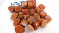 Red Fire Agate Qty 1 Tumbled Stone 25mm Reiki Healing Crystals by Cisco Traders