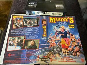 Mugsy's Girls original 1980s video release Australian CBS FOX - Ruth Gordon