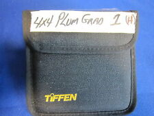 TIFFEN 4x4 FILTER  PLUM   GRAD HE  # 1  (USED)