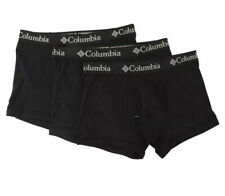 Columbia 3-Pack Cotton Stretch Trunks Men's Black Size Large