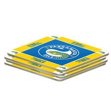 Parramatta Eels NRL 4 Pack Coasters Coaster **NRL OFFICIAL MERCHANDISE**