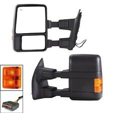 For 99-07 Ford F250 Super Duty Excursion Towing Mirrors Power Heated Turn Signal