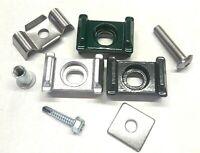 Aluminium Auflagebock Zaun Gittermatten Halter Stabzaun Pfosten Befestigung Norm