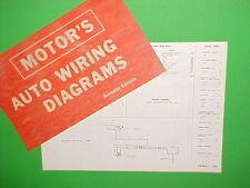 1963 1964 1965 1966 1967 MERCURY COMET CONVERTIBLE CYCLONE GT WIRING DIAGRAMS