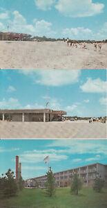 ZION ILLINOIS Illinois Beach State Park 3 Postcards