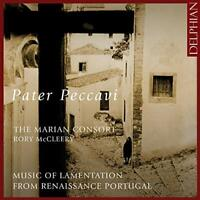 The Marian Consort - Pater Peccavi: Music of Lamentation from Renaissance [CD]