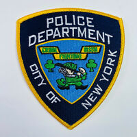 Irish Crime Fighting New York City Police Department NYPD Patch