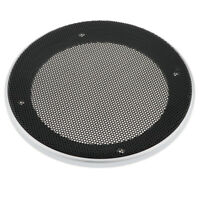 Speaker Case Cover Metal Subwoofer Mesh Grille Protection Decorative Circle