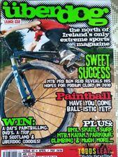 UBERDOG MAGAZINE ISSUE 1 BMX EXTREME SPORTS APRIL MAY 2010