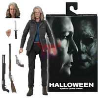 "NECA Halloween Laurie Strode Ultimate 7"" Action Figure 2018 Movie Collection New"