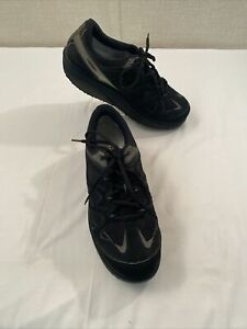 MBT PHYSIOLOGICAL FOOTWEAR MAN WALKING SHOES SIZE 10.5 BLACK