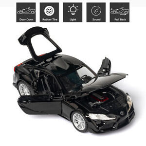 Toyota Supra GR 1:32 Alloy Diescast Model Car Toy Sound&Light Kids Gift Toy
