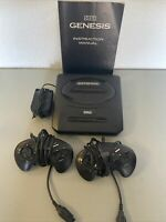 SEGA Genesis Console MK-1631 Model 2 w/ 2 OEM Controllers - Tested One Owner