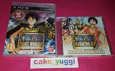 ONE PIECE PIRATE WARRIORS TREASURE EDITION SONY PS3 NEUF 100% PAL FR + OST