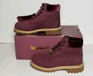 TIMBERLAND YOUTH SIZE 1 WATER RESISTANT 6 INCH BOOTS NEW IN BOX TB0A1PB3