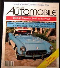 Collectible Automobile 1991 June 1939-40 Mercury Plymouth Stout Scarab Dodge Cor