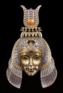 Ägyptische Wand Maske - Kleopatra - Veronese Deko Figur Ägypten Königin