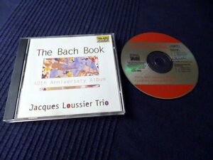 CD Jacques Loussier Trio - The Bach Book 40th Anniversary | TELARC 1999