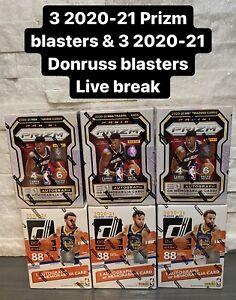 BOSTON CELTICS 2020-21 Panini Prizm & Donruss NBA Mixer 6 Blasters Live Break