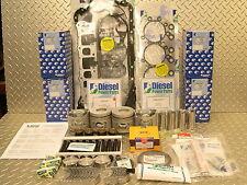 MITSUBISHI TRITON TOP QUALITY 4D56T 2.5  TURBO DIESEL  ENGINE REBUILD  KIT