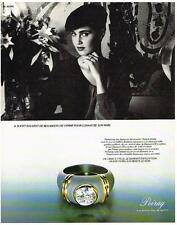 PUBLICITE ADVERTISING  1982   POIRAY  joaillerie