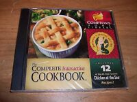 The Complete Interactive Cookbook CD-ROM Compton's Home Library Recipes NEW