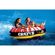Boating Sportsstuff Crazy 8 Towable Water Tube 2 Person Rider  53-1450