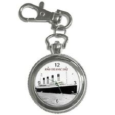RMS TITANIC 1912 SHIP KEYCHAIN WATCH **SUPERB ITEM**
