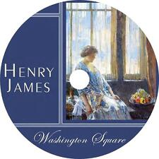 Washington Square, a Henry James Classic Tragic Comedy Audiobook on 1 MP3 CD