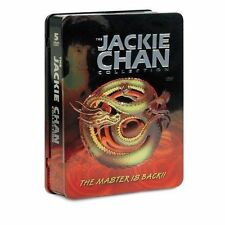 The Jackie Chan Collection (DVD, 2007) 5 disc set, in Tin Box The Master is Back