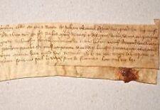 Charte de la guerre de cent ans à Saint-Auvent (Haute-Vienne).