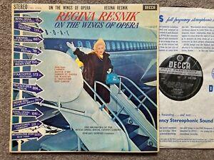 SXL 2304 Regina Resnik On The Wings Of Opera Royal Opera Hse Orch Downes ED1  NM