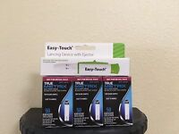 TRUE Metrix Blood Glucose Test Strips 150 Count And Easy Touch Lancing Decide