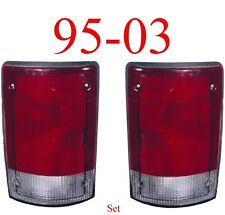 95 03 Ford Econoline Tail Light Set, E150, E250 E350, Both Left & Right