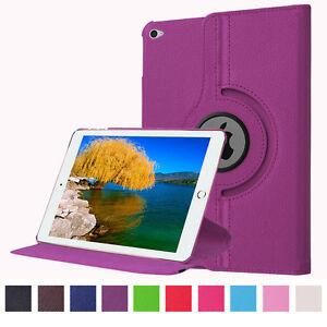 Luxury PU Leather Smart Cover 360 Rotating Holder Case For iPad Mini 4 5